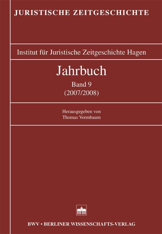 Jahrbuch Band 9 (2007/2008) | / Vormbaum, 2008 | Buch (Cover)