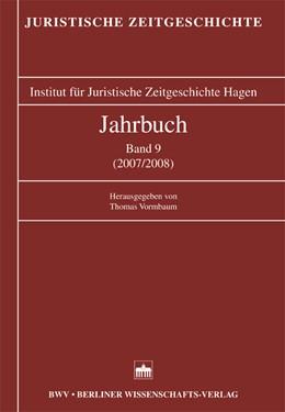 Abbildung von / Vormbaum | Jahrbuch Band 9 (2007/2008) | 2008 | Band 9