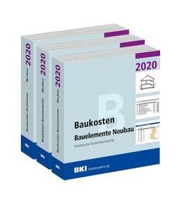 Abbildung von BKI Baukosten Gebäude, Positionen und Bauelemente Neubau 2020 - Teil 1-3 | 1. Auflage | 2020 | beck-shop.de