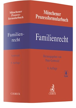 Abbildung von Münchener Prozessformularbuch Familienrecht | 6. Auflage | 2021 | Band 3 | beck-shop.de
