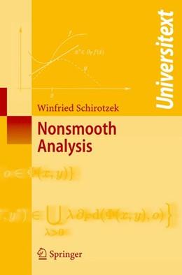 Abbildung von Schirotzek   Nonsmooth Analysis   2007