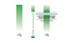 Abbildung von Dietzel / Kallerhoff   Das Straßenbaubeitragsrecht nach § 8 des Kommunalabgabengesetzes NRW   8. Auflage   2013   beck-shop.de
