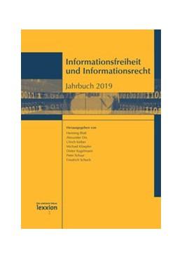 Abbildung von Dix / Blatt   Informationsfreiheit und Informationsrecht   1. Auflage   2020   beck-shop.de