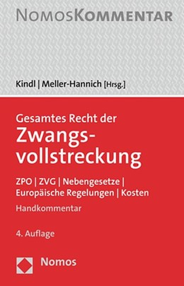 Abbildung von Kindl / Meller-Hannich | Gesamtes Recht der Zwangsvollstreckung | 4. Auflage | 2020 | beck-shop.de