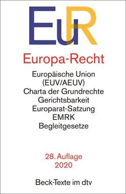 Abbildung von Europa-Recht: EuR | 28. Auflage | 2020 | 5014 | beck-shop.de