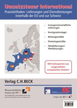 Abbildung von Umsatzsteuer International   1. Auflage   2020   beck-shop.de