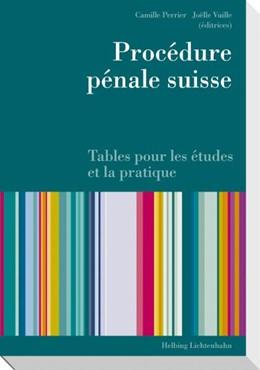Abbildung von Perrier / Vuille   Procédure pénale suisse   2010