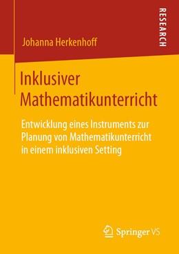 Abbildung von Herkenhoff | Inklusiver Mathematikunterricht | 2020 | Entwicklung eines Instruments ...