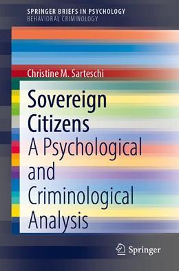Abbildung von Sarteschi | Sovereign Citizens | 1st ed. 2020 | 2020 | A Psychological and Criminolog...