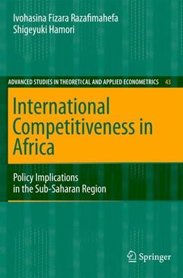 Abbildung von Razafimahefa / Hamori | International Competitiveness in Africa | 2007 | Policy Implications in the Sub... | 43