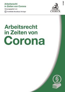 Abbildung von Arbeitsrecht in Zeiten von Corona | 1. Auflage | 2020 | beck-shop.de