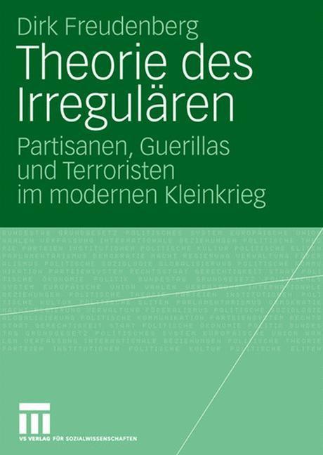 Abbildung von Freudenberg | Theorie des Irregulären | 2007