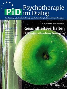 Abbildung von Herpertz / Köllner | Psychotherapie im Dialog - Gesundheitsverhalten | 2009 | Adipositas - Rauchen - Bewegun...