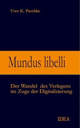 Abbildung von Paschke   Mundus libelli   1. Auflage   2020   beck-shop.de