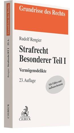 Abbildung von Rengier | Strafrecht Besonderer Teil I | 23. Auflage | 2021 | beck-shop.de
