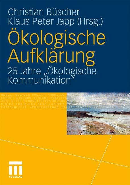 Abbildung von Büscher / Japp | Ökologische Aufklärung | 2010