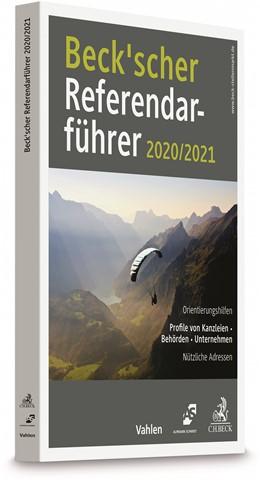 Abbildung von Beck'scher Referendarführer 2020/2021 | 1. Auflage | 2020 | beck-shop.de