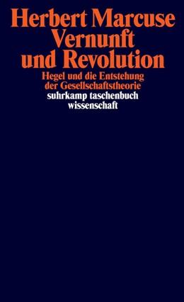 Abbildung von Marcuse | Vernunft und Revolution | 2020 | Hegel und die Entstehung der G...