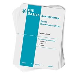 Abbildung von Hemmer / Wüst   Basics Öffentliches Recht. 108 Karteikarten   5. Auflage   2020   beck-shop.de