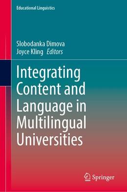 Abbildung von Dimova / Kling | Integrating Content and Language in Multilingual Universities | 1st ed. 2020 | 2020 | 44
