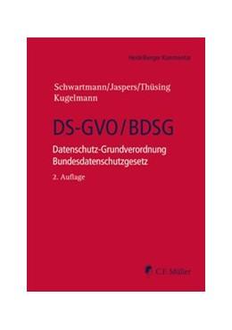 Abbildung von Schwartmann / Jaspers / Thüsing / Kugelmann | DS-GVO/BDSG: Datenschutz-Grundverordnung, Bundesdatenschutzgesetz | 2., neu bearbeitete Auflage | 2020