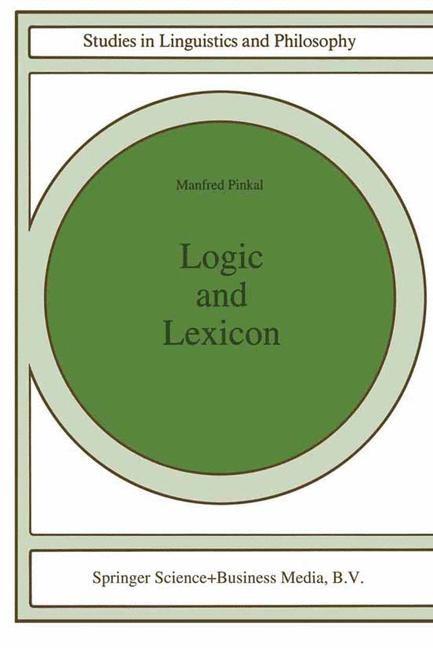 Abbildung von Pinkal   Logic and Lexicon   1995