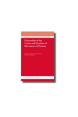 Abbildung von Condinanzi / Lang / Nascimbene | Citizenship of the Union and Freedom of Movement of Persons | 2008 | 14