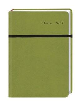 Abbildung von Diario Wochen-Kalenderbuch A5, grün 2021   2020