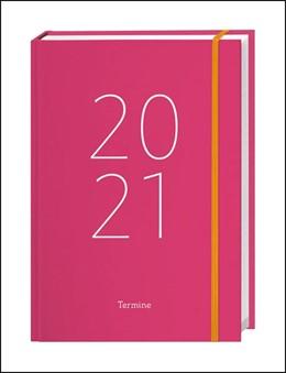 Abbildung von Heye   Tages-Kalenderbuch A6, pink Kalender 2021   2020