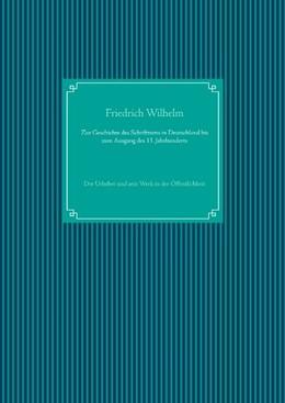 Abbildung von Wilhelm / Ug   Zur Geschichte des Schrifttums in Deutschland bis zum Ausgang des 13. Jahrhunderts   2020   Der Urheber und sein Werk in d...
