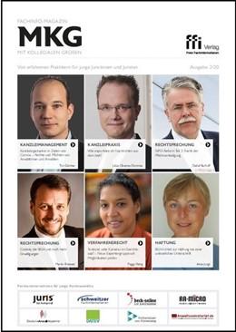 Abbildung von Fachinfo-Magazin MkG • Ausgabe 02/2020 | 1. Auflage | 2020 | beck-shop.de