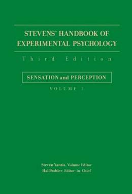 Abbildung von Pashler / Yantis   Stevens' Handbook of Experimental Psychology   3. Auflage   2004