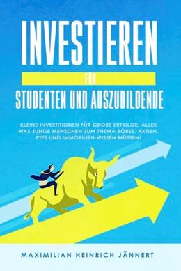 Abbildung von Jännert | Investieren für Studenten und Auszubildende | 1. Auflage | 2019 | beck-shop.de
