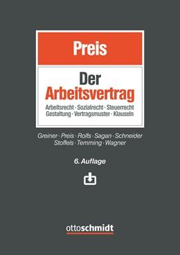 Abbildung von Preis | Der Arbeitsvertrag | 6. Auflage | 2020 | beck-shop.de