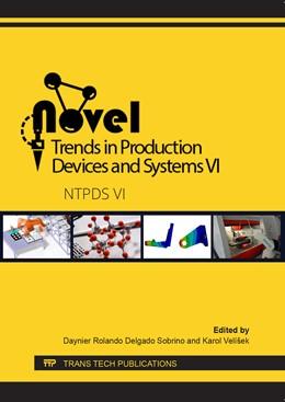 Abbildung von Delgado Sobrino / Velíšek | Novel Trends in Production Devices and Systems VI | 1. Auflage | 2020 | beck-shop.de