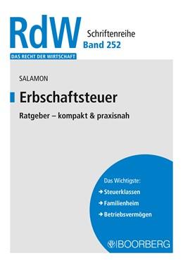 Abbildung von Salamon | Erbschaftsteuer | 2020 | Ratgeber - kompakt & praxisnah