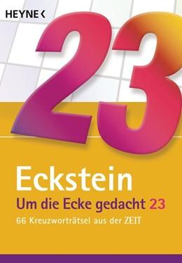 Abbildung von Eckstein   Um die Ecke gedacht 23   1. Auflage   2021   beck-shop.de