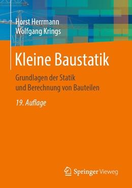 Abbildung von Herrmann / Krings   Kleine Baustatik   19. Auflage   2020   beck-shop.de