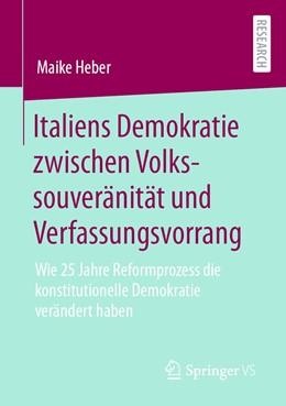 Abbildung von Heber   Italiens Demokratie zwischen Volkssouveränität und Verfassungsvorrang   1. Auflage   2020   beck-shop.de