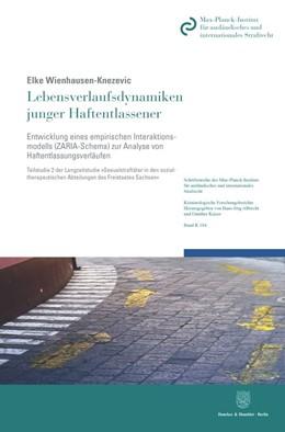 Abbildung von Wienhausen-Knezevic | Lebensverlaufsdynamiken junger Haftentlassener | 2020 | Entwicklung eines empirischen ... | 184