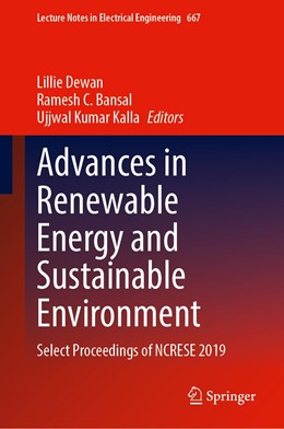 Abbildung von Dewan / C. Bansal / Kumar Kalla | Advances in Renewable Energy and Sustainable Environment | 1st ed. 2021 | 2020 | Select Proceedings of NCRESE 2... | 667