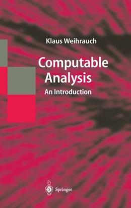 Abbildung von Weihrauch | Computable Analysis | 2000 | An Introduction