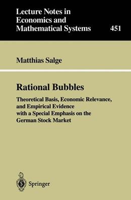 Abbildung von Salge   Rational Bubbles   1997   Theoretical Basis, Economic Re...   451