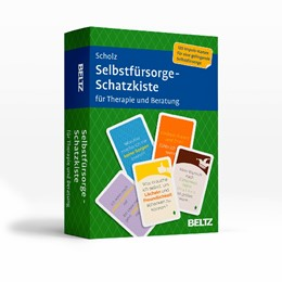Abbildung von Scholz | Selbstfürsorge-Schatzkiste für Therapie und Beratung | 1. Auflage | 2020 | beck-shop.de