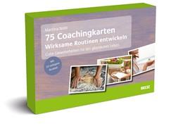 Abbildung von 75 Coachingkarten Wirksame Routinen entwickeln | 2020 | Gute Gewohnheiten für ein glüc...