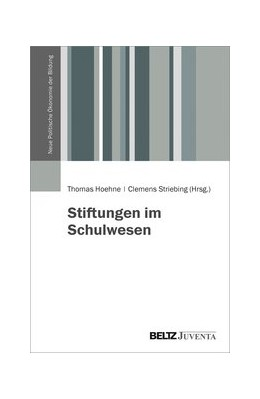 Abbildung von Höhne / Striebing | Stiftungen im Schulwesen | 2020