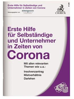 Abbildung von Römermann | Erste Hilfe für Selbständige und Unternehmer in Zeiten von Corona | 1. Auflage | 2020 | beck-shop.de