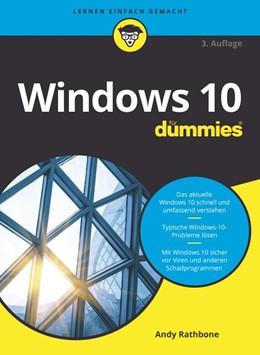 Abbildung von Rathbone | Windows 10 für Dummies | 3. Auflage | 2020 | beck-shop.de