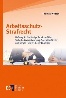 Abbildung von Wilrich | Arbeitsschutz-Strafrecht | 2020 | Haftung für fahrlässige Arbeit...