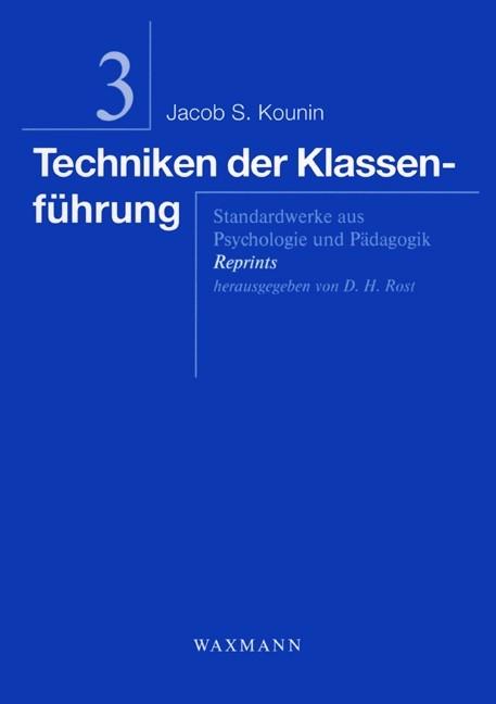 Abbildung von Kounin | Techniken der Klassenführung | 2006